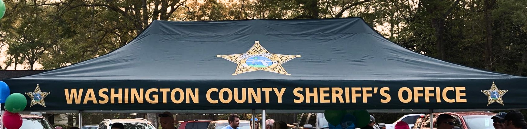 Washington Sheriff Tent