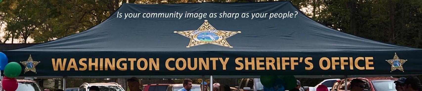 Washington Sheriff Tent