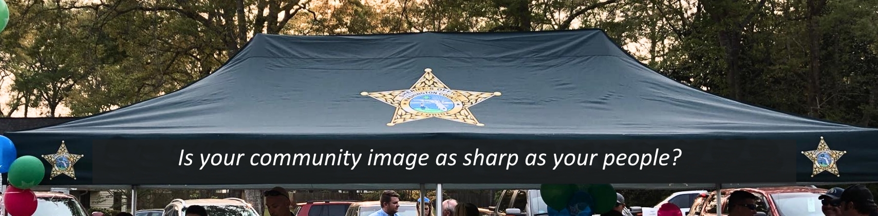 Sheriff Tent
